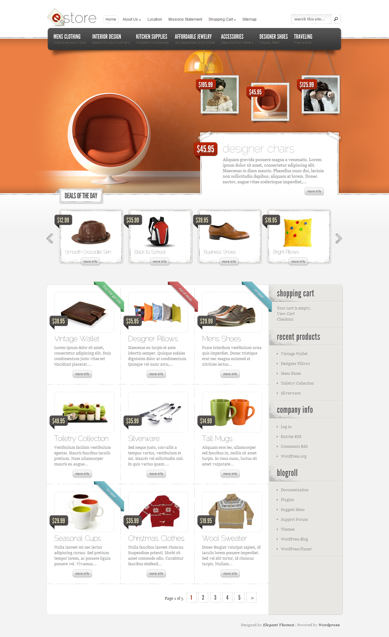 Designed by elegant themes powered by wordpress - Which Elegant Theme Do You Want For Your Wordpress Site